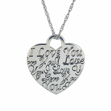 Love of My Heart Personalized Necklace