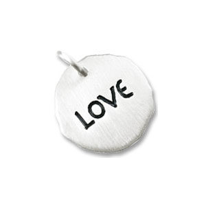 Love Tag Charm by Forever Charms - Personalized