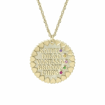 """Loving Family"" Personalized Necklace"