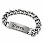 Men's ID Bracelet - Personalized - click to Enlarge
