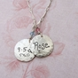 Mom's Name Charm Necklace - click to Enlarge