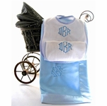 Monogram Baby Boy Gift Set