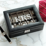 Monogram Faux Leather Watch Box
