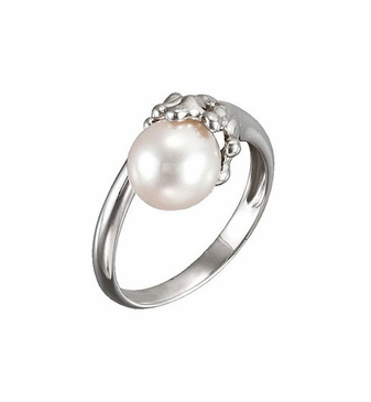 Moon Light Pearl Ring