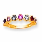 Mother's Love Birthstone Ring - click to Enlarge