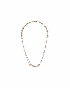 Multi-color Entangled Pearl Necklace