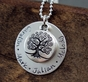 My Family Tree Name Necklace - click to Enlarge