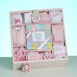 My First Year Keepsake Gift Set - Girl