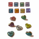 My Story� Locket Name Charms
