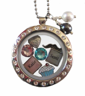 My Story™ Locket with Crystals