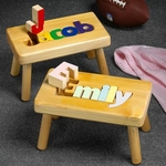 Name Puzzle Step Stools
