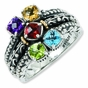 Near and Dear Two Tone Family Ring - click to Enlarge