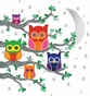 Nightly News 2 Owl - Peel & Place Wall Art - click to Enlarge
