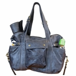 Not Rational Hansel Diaper Bag - Grey Distressed  (SALE)