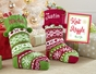 Old-Fashioned Knitted Christmas Stocking - Personalized - click to Enlarge