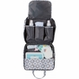 On-the-Go Kit Sky Blue Montage Diaper Bag by Bumble Bags - click to Enlarge