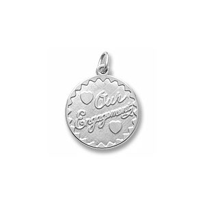 Our Engagement Charm by Forever Charms - Personalized