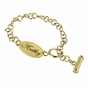 Oval Name Tag Toggle Bracelet - click to Enlarge