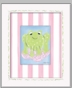 Paddy Frog - Girl Frog Framed Canvas Wall Art - click to Enlarge