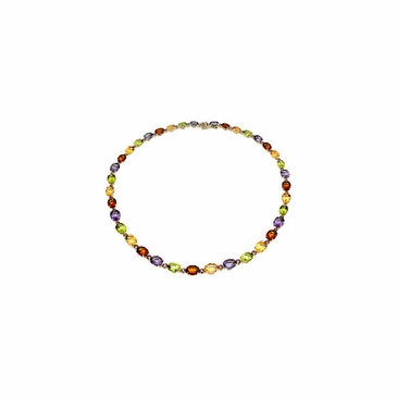 Panache Multicolor Gemstone Necklace