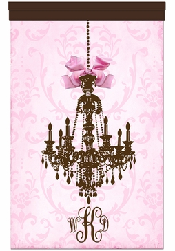 Parisian Chandelier Coco Framboise Wall Hanging Personalized by Dish and Spoon
