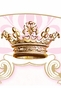 Parisian Princess Wall Hanging Personalized by Dish and Spoon - click to Enlarge