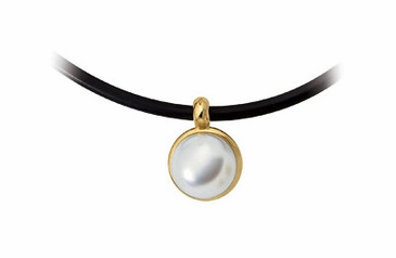 Paspaley 18K Yellow South Sea Pearl Pendent