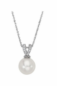 Paspaley Enlightened Pearl and Diamond Pendant
