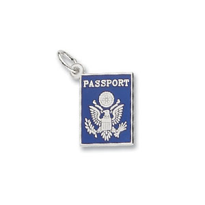 Passport Charm by Forever Charms - Personalized
