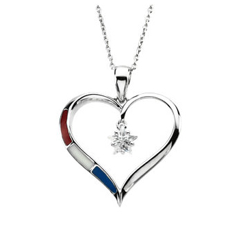 Love of Country Necklace