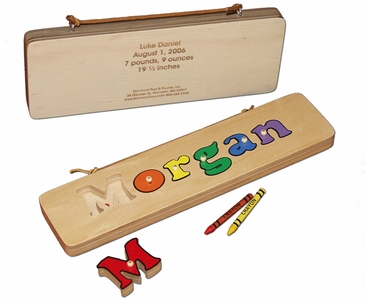 Personalized 1 Line Wooden Board Puzzle