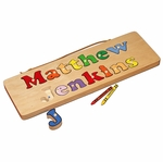 Personalized 2 Line Wooden Board Puzzle