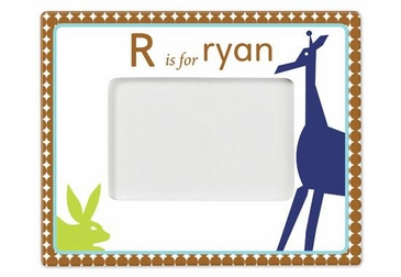 Personalized Animals Boy Picture Frame