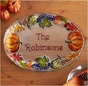 Personalized Autumn Serving Platter - click to Enlarge