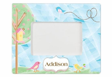 Personalized Birds Picture Frame