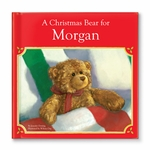 Personalized Christmas Book & Plush Bear Gift Set
