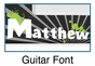 Personalized Guitar Picture Frame - click to Enlarge