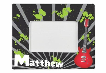 Personalized Guitar Picture Frame
