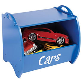 Personalized Kids Stackable Wooden Storage Caddy