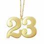 Personalized Name and Number Necklace - click to Enlarge
