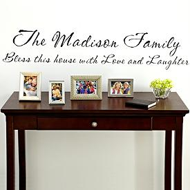 Personalized Vinyl Wall Art Decal