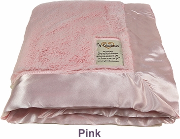 Pink Luxe Blanket by My Blankee
