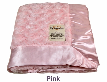 Pink Snail Blanket by My Blankee