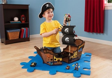 Pirate Ship Play Set