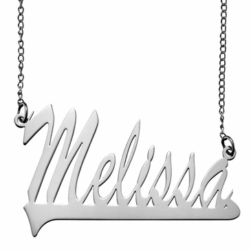 Polished Name Necklace