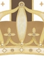 Posh Prince Crown Coco Chateau Name Plaque Personalized by Dish and Spoon - click to Enlarge