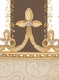 Posh Princess Crown Coco Chateau Name Plaque Personalized by Dish and Spoon - click to Enlarge