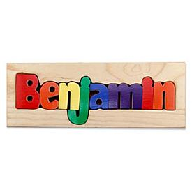 Primary Name Puzzle Board