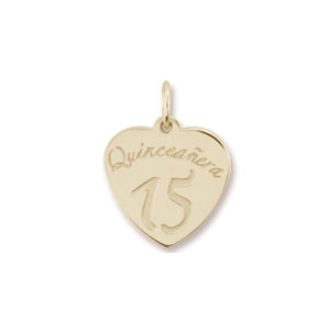 Quinceanera Charm by Forever Charms - Personalized