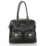 Rachel Black Diaper Bag by Timi & Leslie